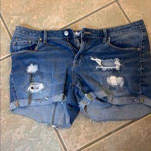 Mossimo Midi Rise Shorts